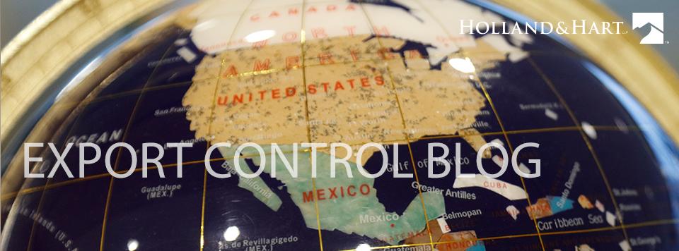 Export Control Blog